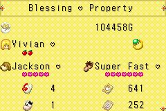 Harvest Moon - More Friends of Mineral Town - My property in the 1st year. - User Screenshot